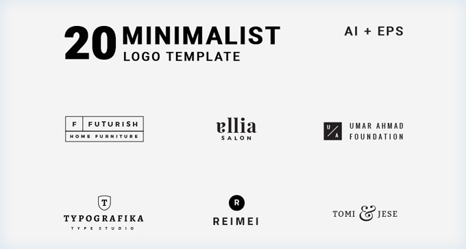 Easily create your own logo design or logos for your clients based on this template